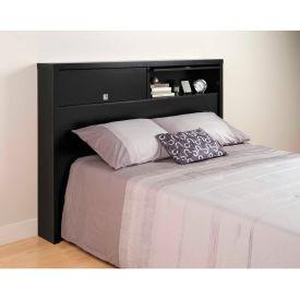 Prepac Manufacturing Black Series 9 Designer Full / Queen 2 Door Headboard