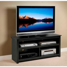 Prepac Manufacturing Black Vasari Flat Panel TV Console