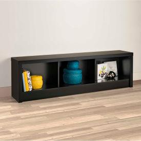 Prepac Manufacturing Series 9 Designer - Black Storage Bench