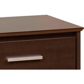Prepac Manufacturing Espresso Coal Harbor 6 Drawer Dresser