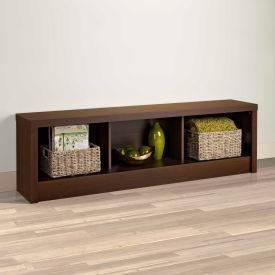 Prepac Manufacturing Series 9 Designer - Espresso Storage Bench