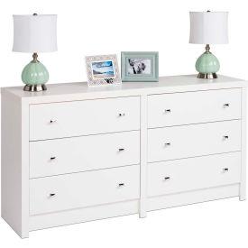 Prepac Manufacturing Calla 6-Drawer Dresser