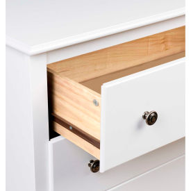 Prepac Manufacturing White Monterey Children's 6 Drawer Dresser