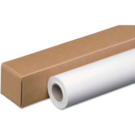 """PM Company® Wide-Format Inkjet Paper Roll 46124, 24"""" x 100', White, 1 Roll"""