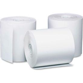 "PM Company® Single-Ply Thermal Cash Register/POS Rolls 05210, 3-1/8""x119', White, 50 Rolls/Ctn"