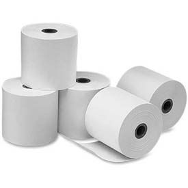 "PM® Perfection POS/Cash Register Rolls, 3-1/4"" x 240', White, 5 Rolls/Carton"