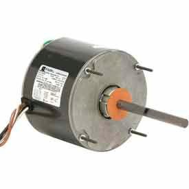 US Motors 1859, Condenser Fan, 1/6 HP, 1-Phase, 1075 RPM Motor