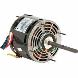 US Motors 1863, Direct Drive Fan & Blower, 1/4 HP, 1-Phase, 1075 RPM Motor by