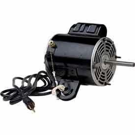 US Motors1935, Yoke Mount Welded Tab Fan, 1/3 HP, 1-Phase, 1075 RPM Motor