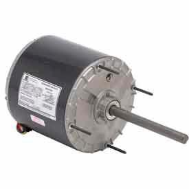 US Motors 3566, Condenser Fan, 3/4 HP, 1-Phase, 1075 RPM Motor