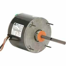 US Motors 3742, Condenser Fan, 3/4 HP, 1-Phase, 1075 RPM Motor by