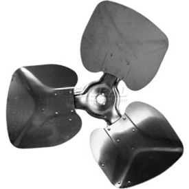 """Three Wing Condenser Fan Blade, Interchangeable Hub, Aluminum Blade, CCW, 22"""" Dia., 30 ° Pitch by"""