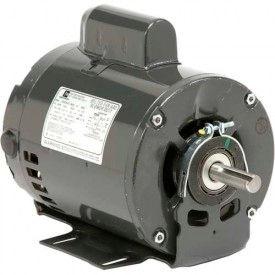 US Motors 4242, Belted Fan & Blower, 1 1/2 HP, 1-Phase, 1725 RPM Motor