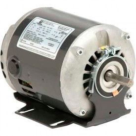 US Motors 5792C, Belted Fan & Blower, 1/4 HP, 1-Phase, 1725/1140 RPM Motor