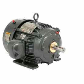 US Motors, TEFC, 5 HP, 3-Phase, 1755 RPM Motor, 8P5P2C