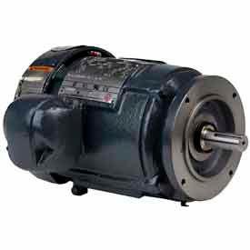 US Motors, TEFC, 5 HP, 3-Phase, 1755 RPM Motor, 8P5P2CCR