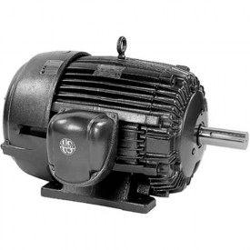 US Motors, TEFC, 200 HP, 3-Phase, 1190 RPM Motor, C200P3C