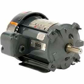 US Motors, TEFC, 5 HP, 3-Phase, 1755 RPM Motor, C5P2B