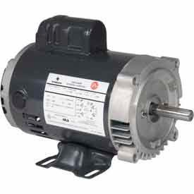 US Motors, ODP, 1/2 HP, 1-Phase, 1725 RPM Motor, D12C2JC