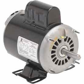 US Motors, ODP, 1/3 HP, 1-Phase, 1725 RPM Motor, D13B2N4Z