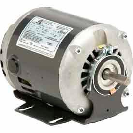 US Motors, ODP, 1/3 HP, 1-Phase, 1725 RPM Motor, D13B2NZA9