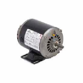 US Motors, ODP, 1/3 HP, 1-Phase, 1725 RPM Motor, D13BA2N4A