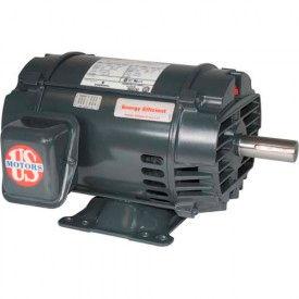 US Motors Inverter Duty, 2 HP, 3-Phase, 1175 RPM Motor, D2V3B
