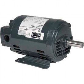 US Motors, ODP, 3 HP, 3-Phase, 1175 RPM Motor, D3P3H