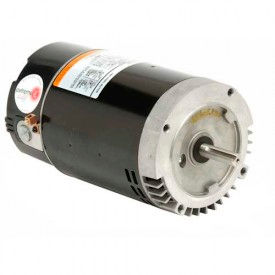 "US Motors 56 C Flange 6.5"" Dia. Pool, 1 HP, 1-Phase, 3450 RPM Motor, EB122"