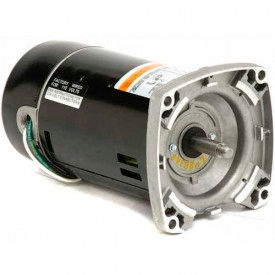 3-Phase Pool & Spa, Square & C-Face Flange, 1/2 HP, 3-Phase, 3450 RPM, EH491