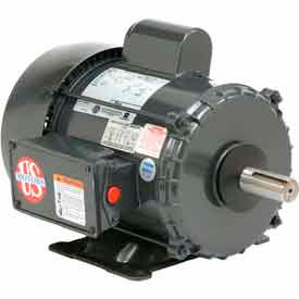 US Motors Farm Duty, 1 1/2 HP, 1-Phase, 1725 RPM Motor, FD32CM2PZ
