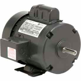 US Motors, TEFC, 1/2 HP, 1-Phase, 1725 RPM Motor, T12C2J