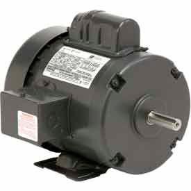 US Motors, TEFC, 1/2 HP, 1-Phase, 1725 RPM Motor, T12CM2J