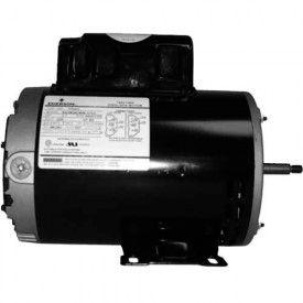 US Motors Thru-Bolt, Pool, 2 1/2 / 1/3 HP, 1-Phase, 3450/1725 RPM Motor, TT504