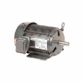 US Motors Unimount® TEFC, 10 HP, 3-Phase, 1180 RPM Motor, U10P3H
