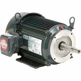 US Motors Pump, 3 HP, 3-Phase, 3540 RPM Motor, UJ3P1BM