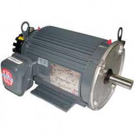 US Motors ACCU-Torq Vector Duty, 0.25 HP, 3-Phase, 1765 RPM Motor, UN14T2BC
