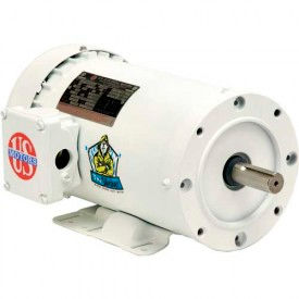US Motors Washdown, 1 1/2 HP, 1-Phase, 3450 RPM Motor, WD32C1JHC