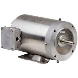 US Motors Washdown, 3 Phase, 3/4 HP, 3-Phase, 1725 RPM Motor, WDP34S2AHC