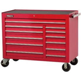 "Proto® 450HS 50"" Workstation - 12 Drawer, Red, 50""L X 41""H X 25""D"