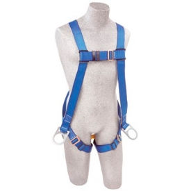 FIRST™ AB17520 Vest-Style Positioning Harness, Back & Side D-Rings, Pass-thru Buckle Leg Straps