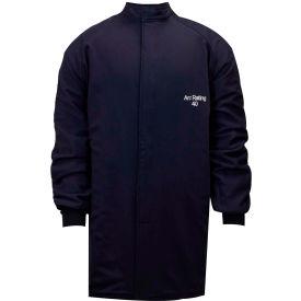 ArcGuard® 40 cal Compliance Arc Flash Coat, 2XL, Navy, C04UQUQ402XL32