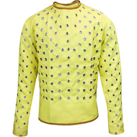 CutGuard™ Kevlar Surgeon Style Coat, L, Yellow, C28KVLG33