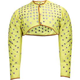 CutGuard™ Kevlar Eyeleted Shoulder Sleeves, XL, Yellow, C32KV00XLL