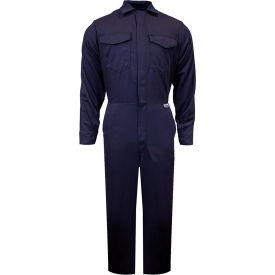 ArcGuard® 12 cal UltraSoft Flame Resistant Coverall, 2XL x 30, Navy, C88UP2XL30