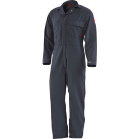 DRIFIRE® 4.4 Flame Resistant Coverall, S, Navy Blue, DF2-450C-CA-NB-SM