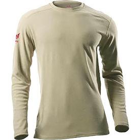 DRIFIRE® Performance Long Sleeve FR T-Shirt, S, Desert Sand, DF2-CM-265ALS-DS-SM