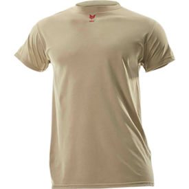 DRIFIRE® Lightweight Flame Resistant T-Shirt, 3XL-T, Desert Sand, DF2-CM-446TS-DS-3XLT