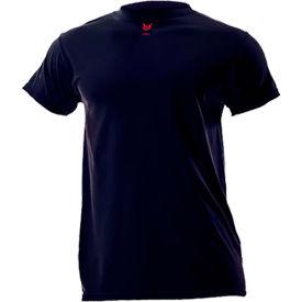 DRIFIRE® Lightweight Flame Resistant T-Shirt, M-T, Navy Blue, DF2-CM-446TS-NB-MDT