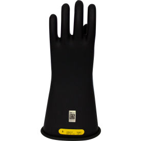 ArcGuard® Class 2 Rubber Voltage Gloves, Black, Size 12, DWH14212